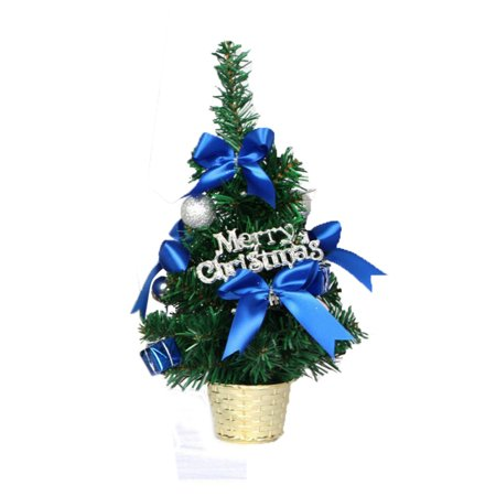 Mini Christmas Tree Ornament Desk Table Festival Xmas Party Decor Gifts 30cm
