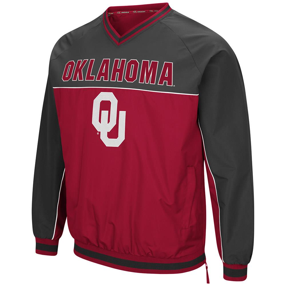 Mens Oklahoma Sooners Windbreaker Jacket M by Colosseum