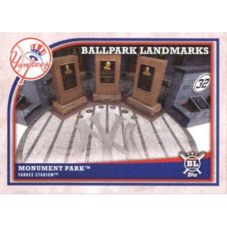 2018 Topps Big League #365 Monument Park New York Yankees Baseball Card - *GOTBASEBALLCARDS