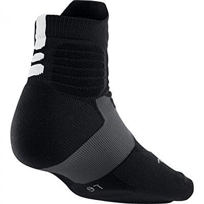 Nike Dri-Fit Hyper Elite High Quarter Socks Black/White S...