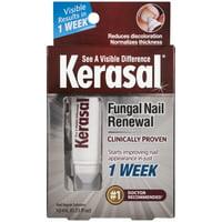 Kerasal Fungal Nail Renewal Treatment, Visible results in just 1 week, .33 Ounces
