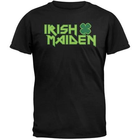 Patricks Day Irish T-shirts (St. Patricks Day - Irish Maiden T-Shirt)