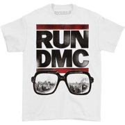 Run DMC Men's  Glasses NYC T-shirt White