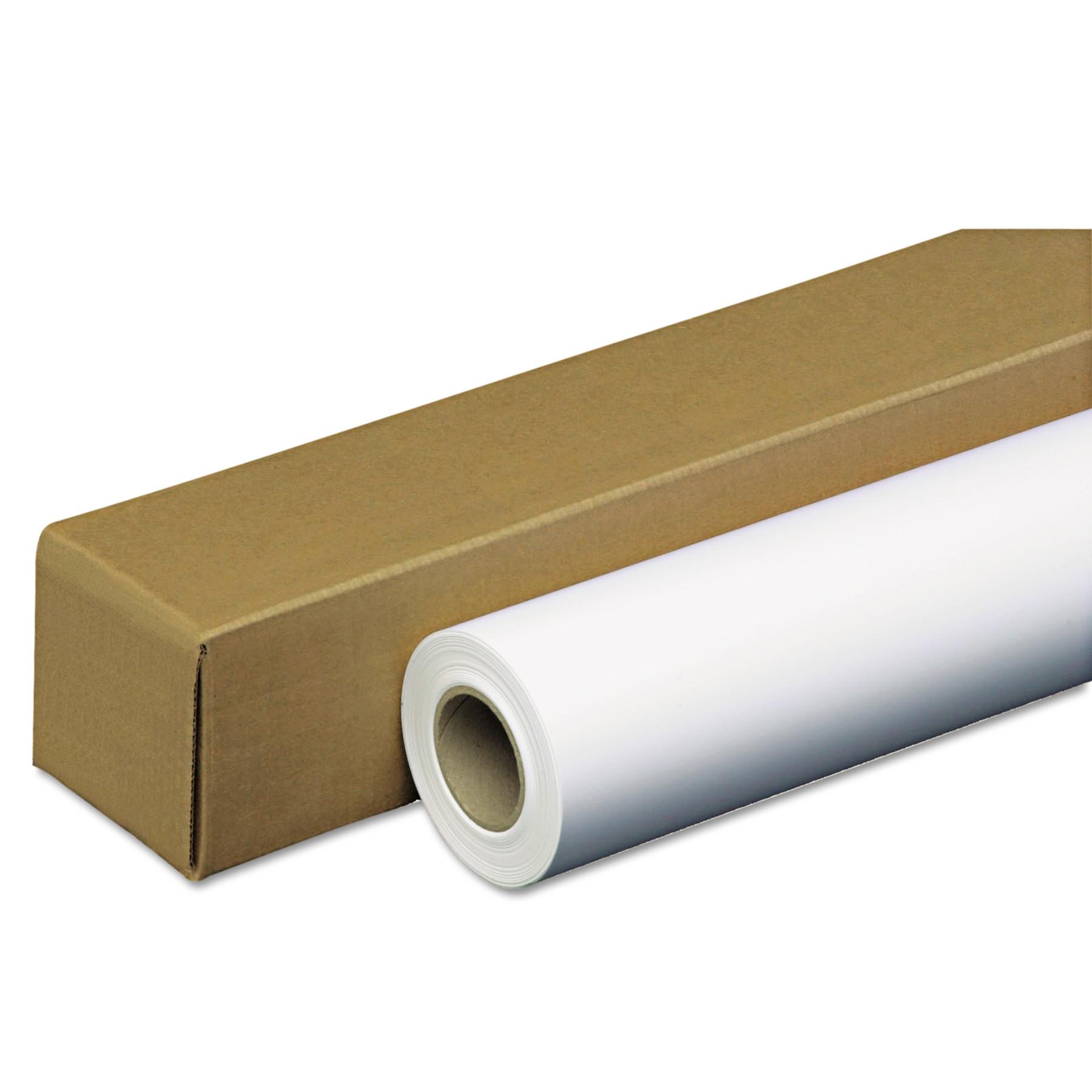 """PM Company Amerigo Wide-Format Paper, 35 lbs., 2"""" Core, 42"""" x 100 ft, White, Amerigo -PMC46142"""