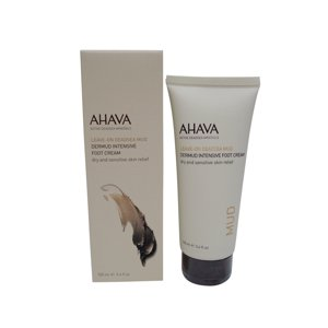 AHAVA Dead Sea Mud Dermud Intensive Foot Cream, 3.4 oz