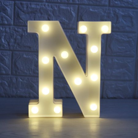 kojooin led marquee letter character lights a z alphabet light up