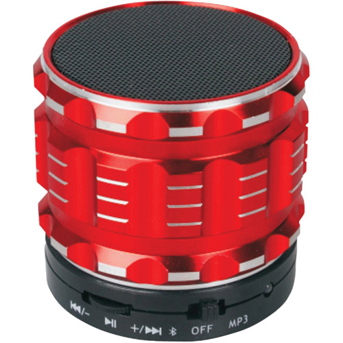 Naxa NAS-3060 Bluetooth Speaker, Red