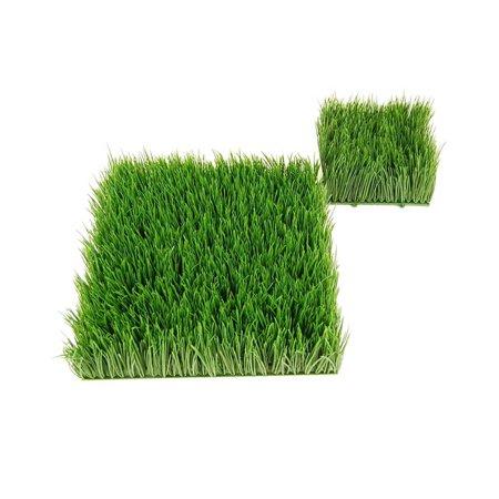 Artificial Wheat Grass- Fake Soft PVC Plastic Decorative Wheatgrass: Ornamantal Flower Arranging & Home Decor - 12