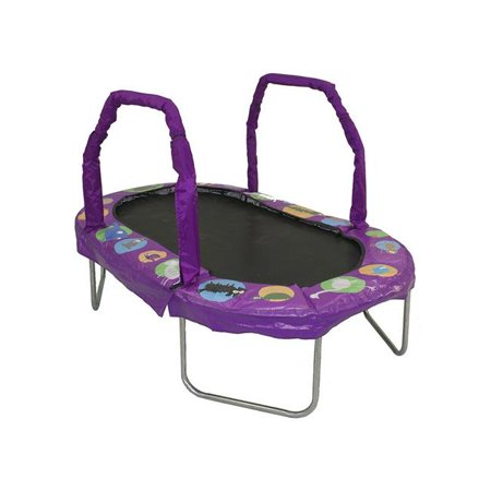 Bazoongi JK3866PR 38 x 66 in. Jumpking Mini Oval Trampolines with Purple Pad - image 1 of 1