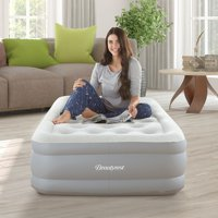 Beautyrest Sky Rise Raised Air Bed Mattress with Hands-Free Express Pump