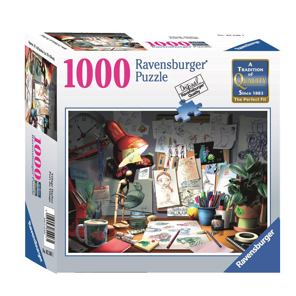 Disney Pixar The Artist Desk 1000 Piece Jigsaw Puzzle Ravensburger by
