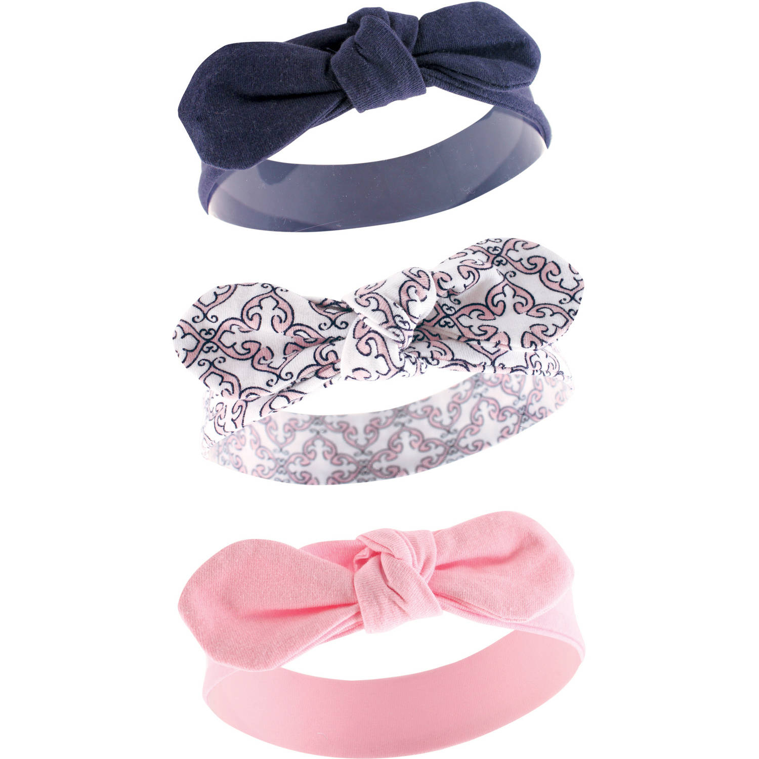 Yoga Sprout Toddler Baby Girls Headband 3-Pack - Trellis
