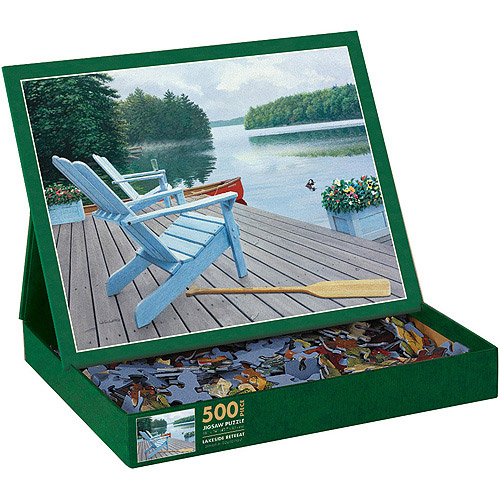 Lakeside Retreat Puzzle, 500 Pieces
