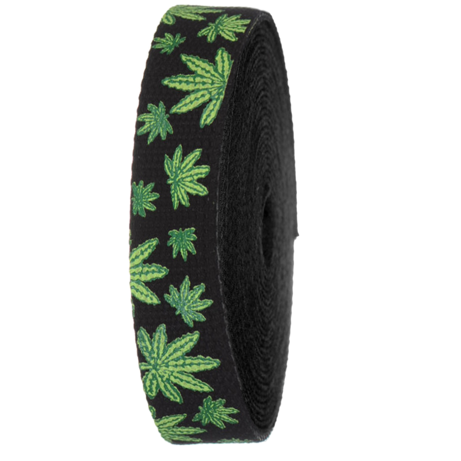Crafts Weed Printed Heavy Canvas Webbing Roll 1.25 Width Durable Strap for Belts Bags