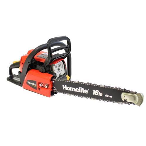 "Refurbished Homelite UT10568 16"" Bar Gas Powered 42cc 2 Hp 2 Cycle Tree Chainsaw [Refurbished]"