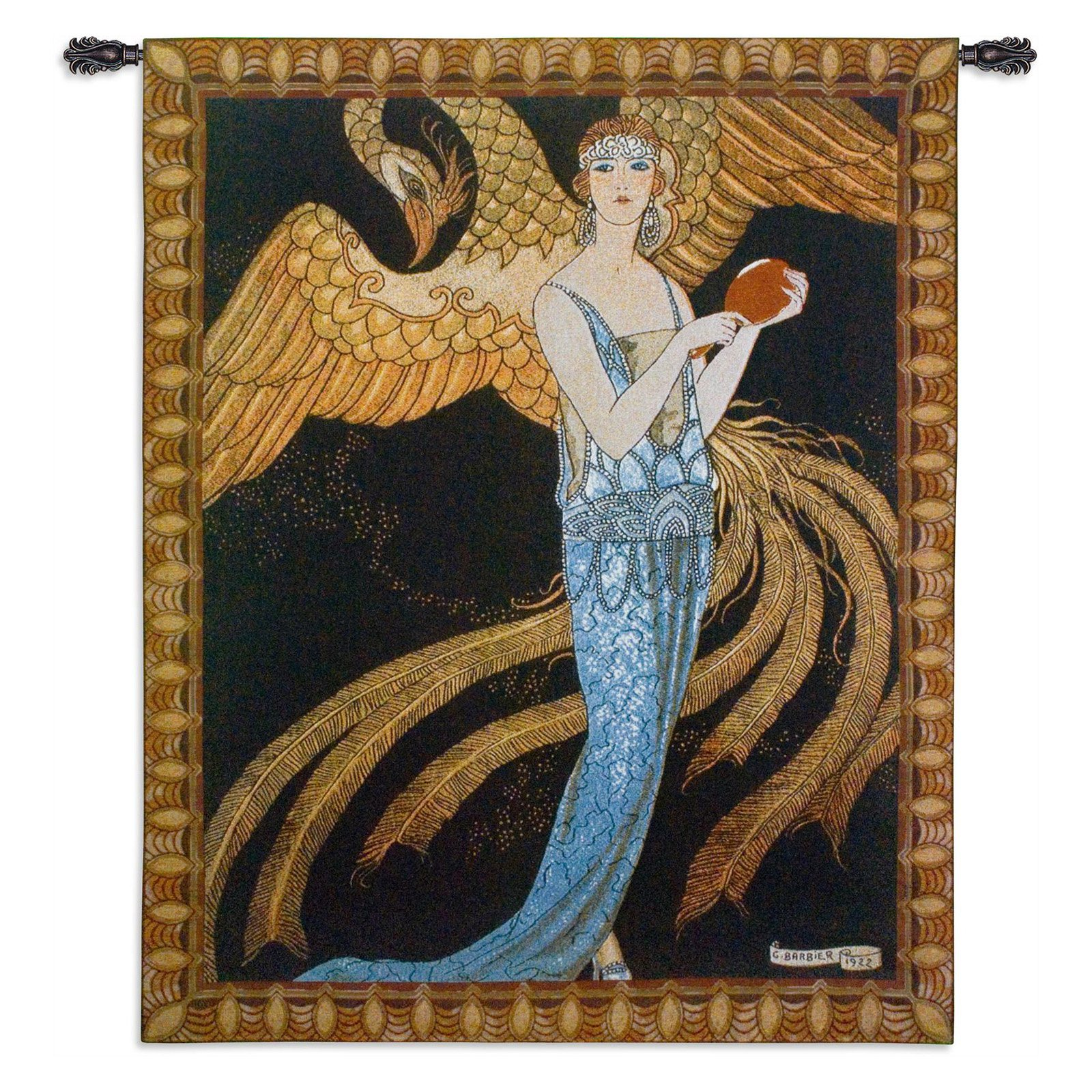 FineArtTapestries 3576-WH Sortileges Wall Tapestry by Supplier Generic