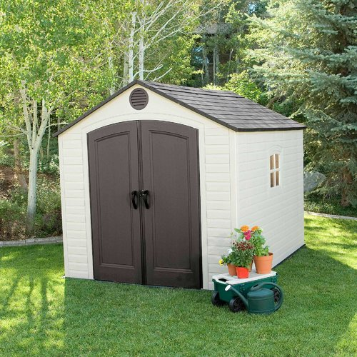 Lifetime 8 Ft. W x 10 Ft. D Storage Shed, 6405