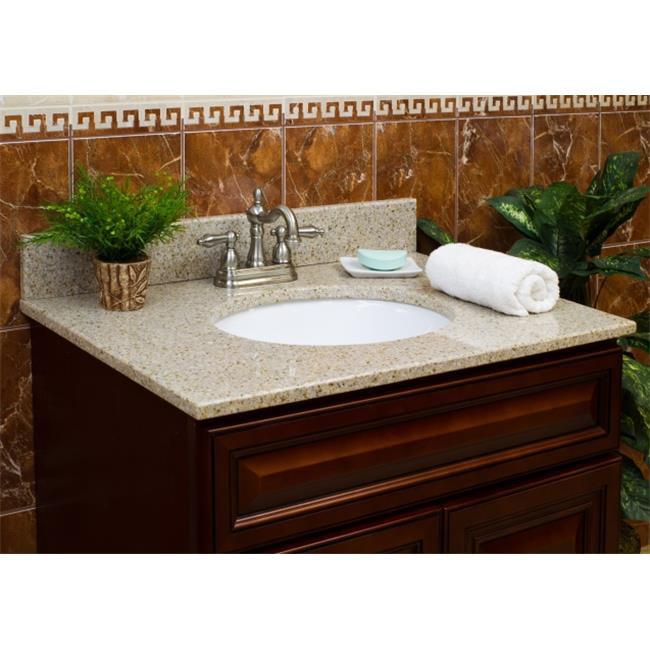 LessCare Vanity Granite Top - Wheat