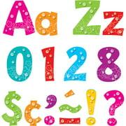 """Trend Bubbles Design 4"""" Ready Letters Pack, Multicolor, 216 / Pack (Quantity)"""