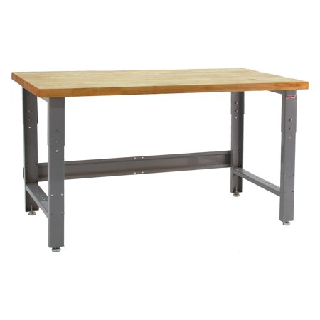Maple Deep Workbench - Bench Pro Roosevelt 1600 lb. Workbench with Maple Wood Top