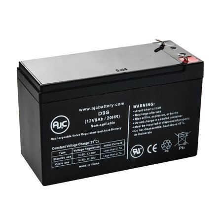 Eaton Powerware PW9130L3000T-XL 12V 9Ah UPS Battery - This is an AJC Brand  Replacement
