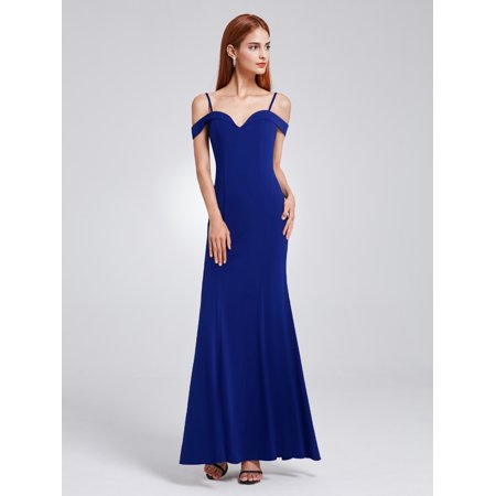 Ever Pretty Womens Classic Off Shoulder Mermaid Evening Prom