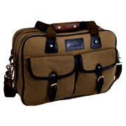 Outback Trading Bag Adult Vagabond Carry All Pockets Padded Brown 7502