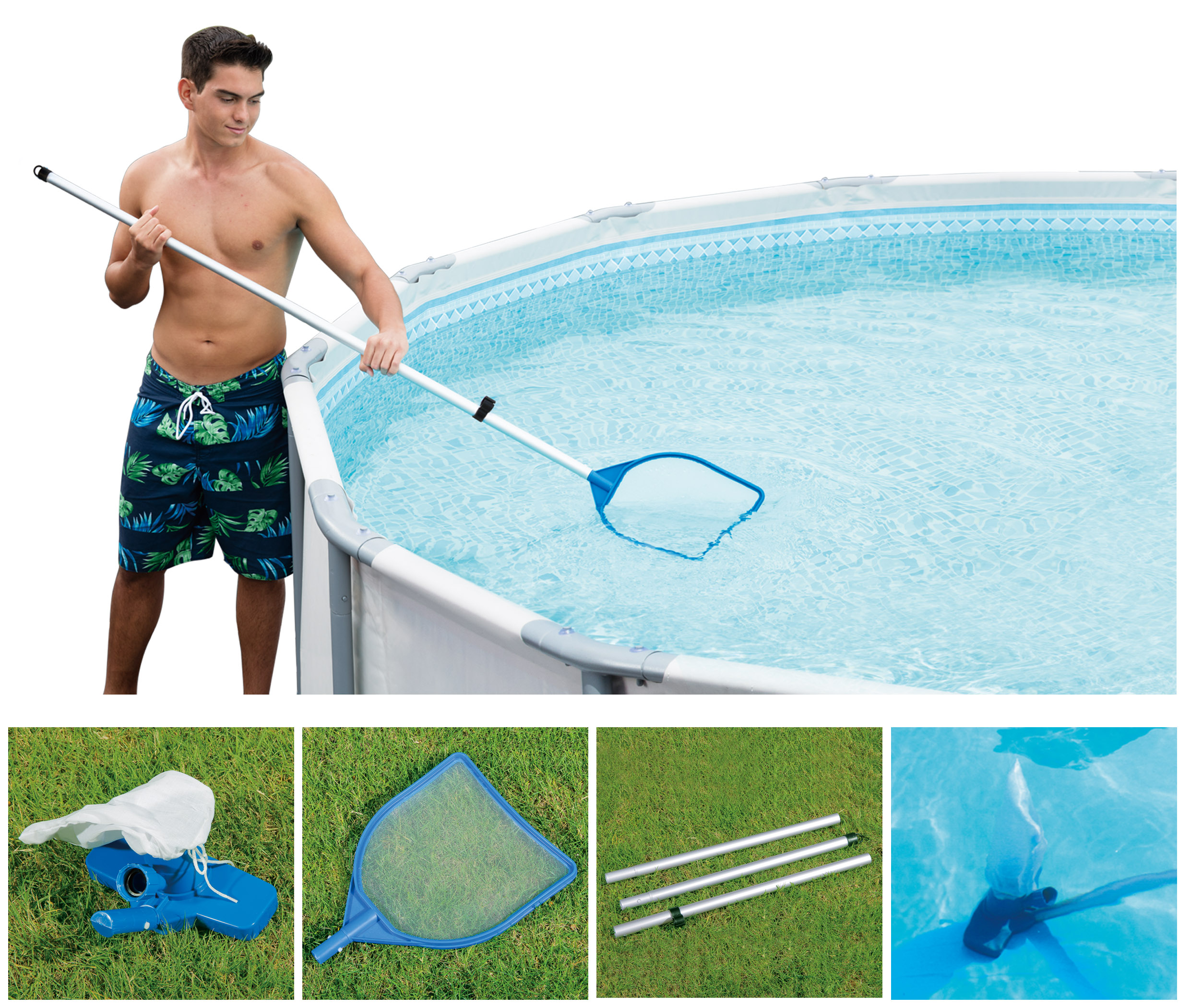Summer Waves Above Ground Swimming Pool Maintenance Kit