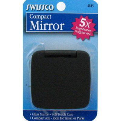 Swissco Mirror Compact & Magnifying 5X