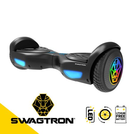 SWAGTRON Swagboard Evo Hoverboard with Led Wheels & Balance