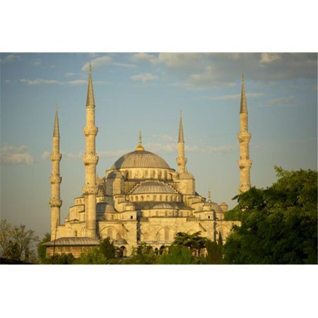 Posterazzi DPI12285838LARGE Sultan Ahmed Mosque - Istanbul Turkey Poster Print by Ron Dahlquist, 38 x 24 - -