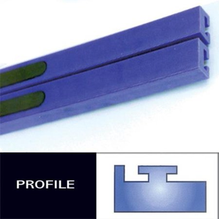- Hiperfax 56 Profile #11 Teflon Slides - 49-1/2in. - Blue
