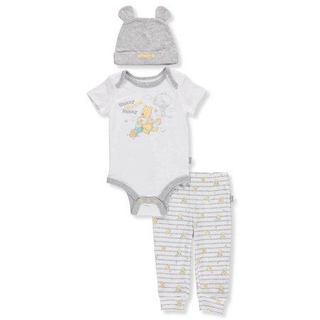 c9c96719adf0 Disney - Winnie the Pooh Baby Boys  3-Piece Pants Set Outfit - Walmart.com