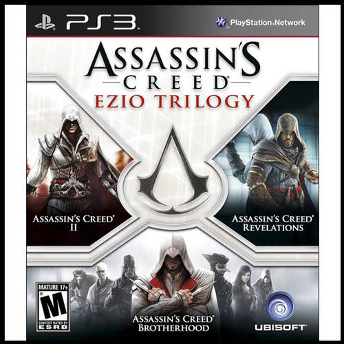 Assassin's Creed: Ezio Trilogy (PS3) - Pre-Owned