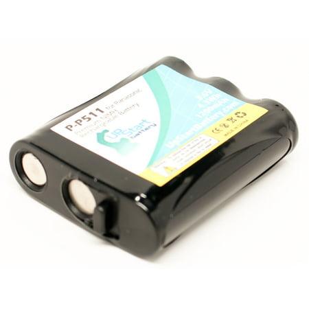 3x Pack - Panasonic KX-TG5100M Battery - Replacement for Panasonic Cordless Phone Battery (1200mAh, 3.6V, NI-MH) - image 3 de 4