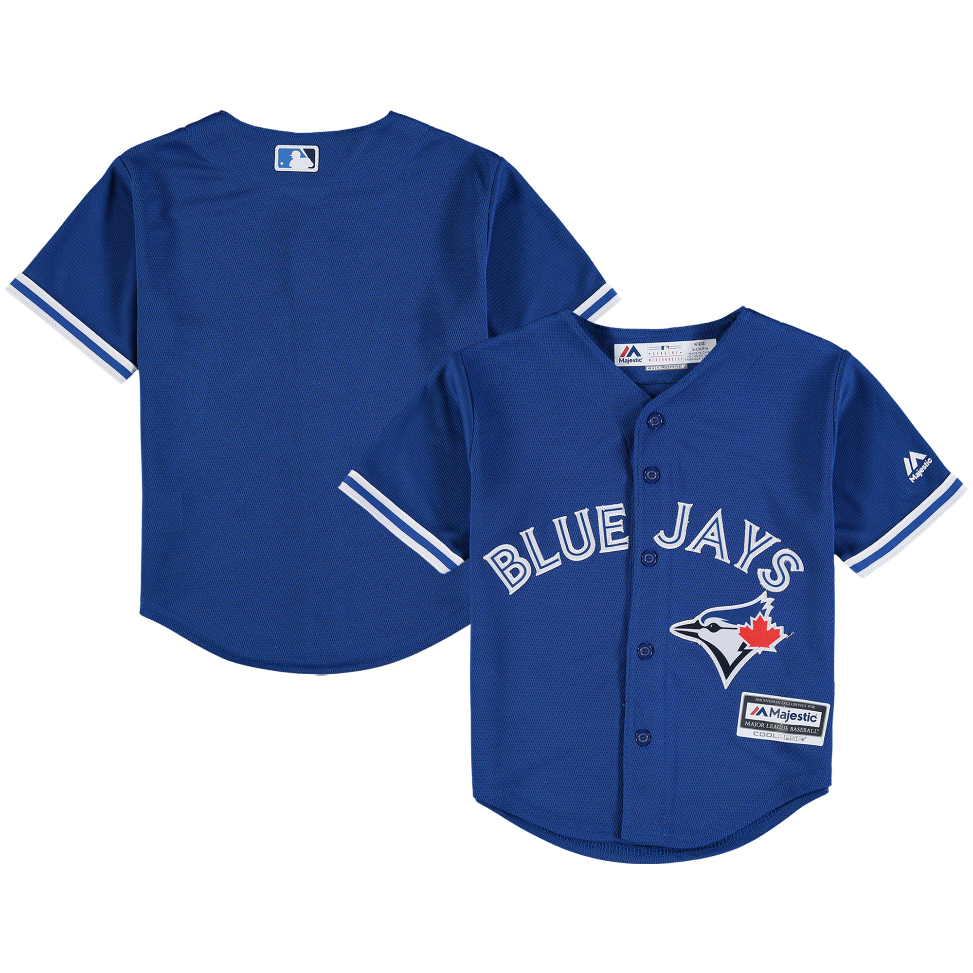 Toronto Blue Jays Majestic Preschool Alternate Official Cool Base Team Jersey - Royal