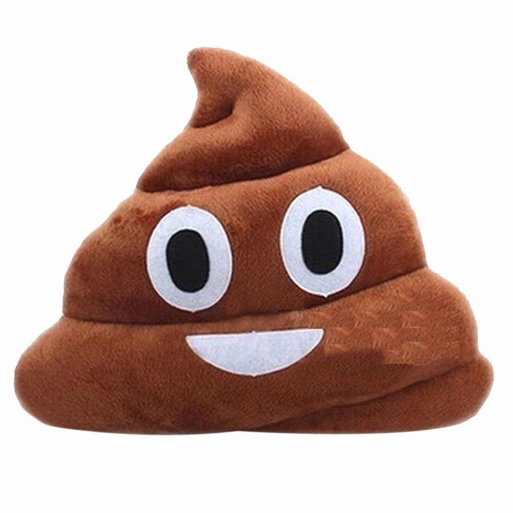 Emoji Pillow - Poop
