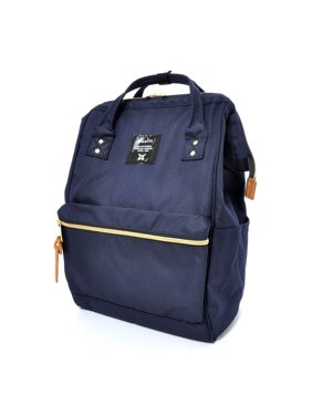 66c49195e679 Product Image Anello Official Japan Blue Unisex Fashion Backpack Rucksack  Diaper Travel Bag AT-B0193A-NV