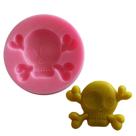 Halloween Decorated Kitchens (Silicone Cake Decorating Mold Halloween Ghost Skull Muffin Pudding)