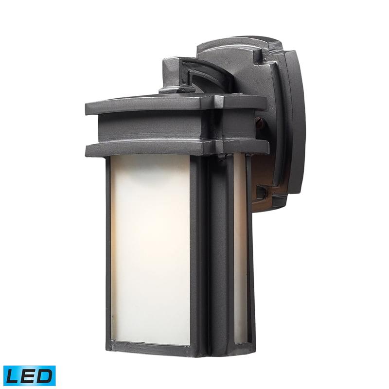 Elk Lighting Sedona 1- Light Outdoor Sconce in Graphite