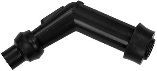 Long Elbow Type NGK 8408 Spark Plug Resistor Cover VB05E 120deg