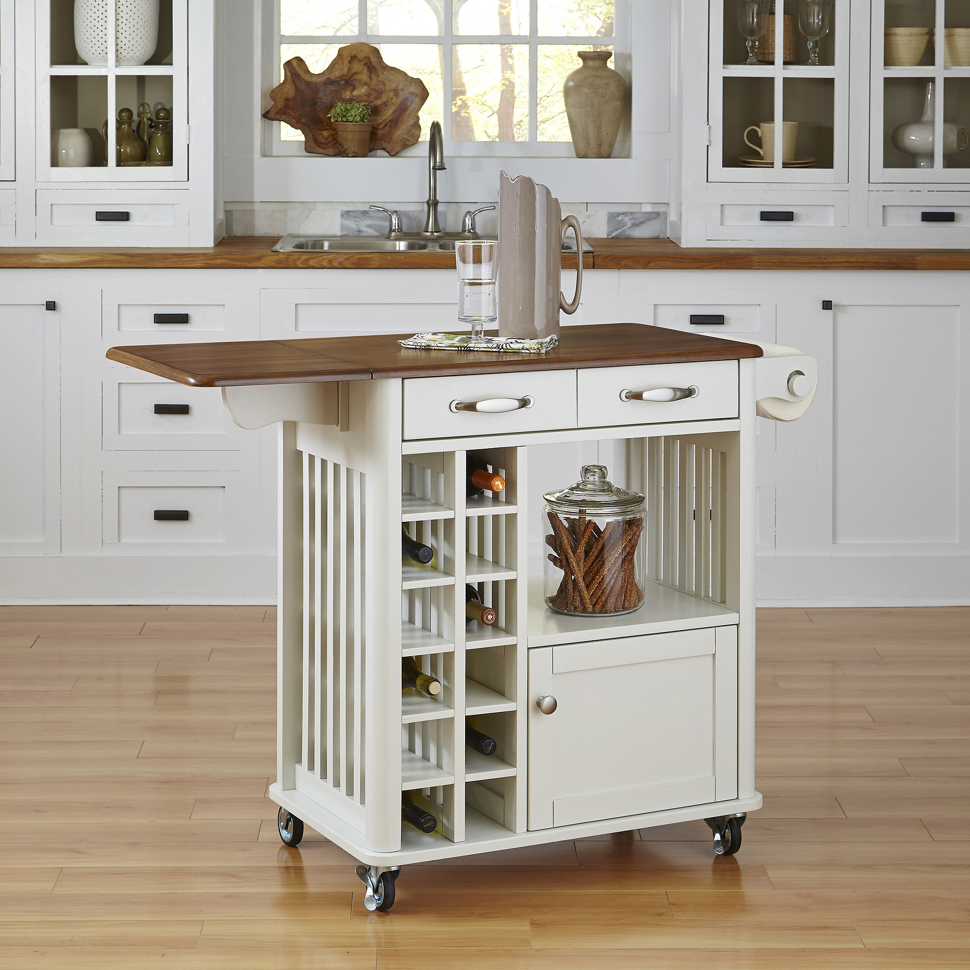 how to clean cabinets in the kitchen home styles bermuda kitchen cart brushed white walmart 9327