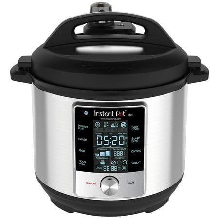 Pressure 60 Tabs - Instant Pot Unlimited 60 Max 6 Quart Electric Pressure Cooker, - Pressure Canner, Sous Vide, Slow Cooker, Rice Cooker, Saute/Searing Pan, Steamer, Yogurt Maker, Food Warmer, Pressure Cooker.., New!