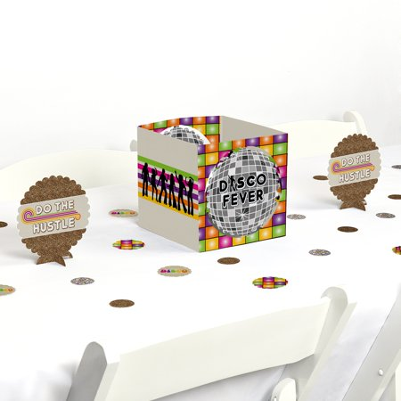 70's Disco - 1970's Disco Fever Party Centerpiece & Table Decoration Kit for $<!---->