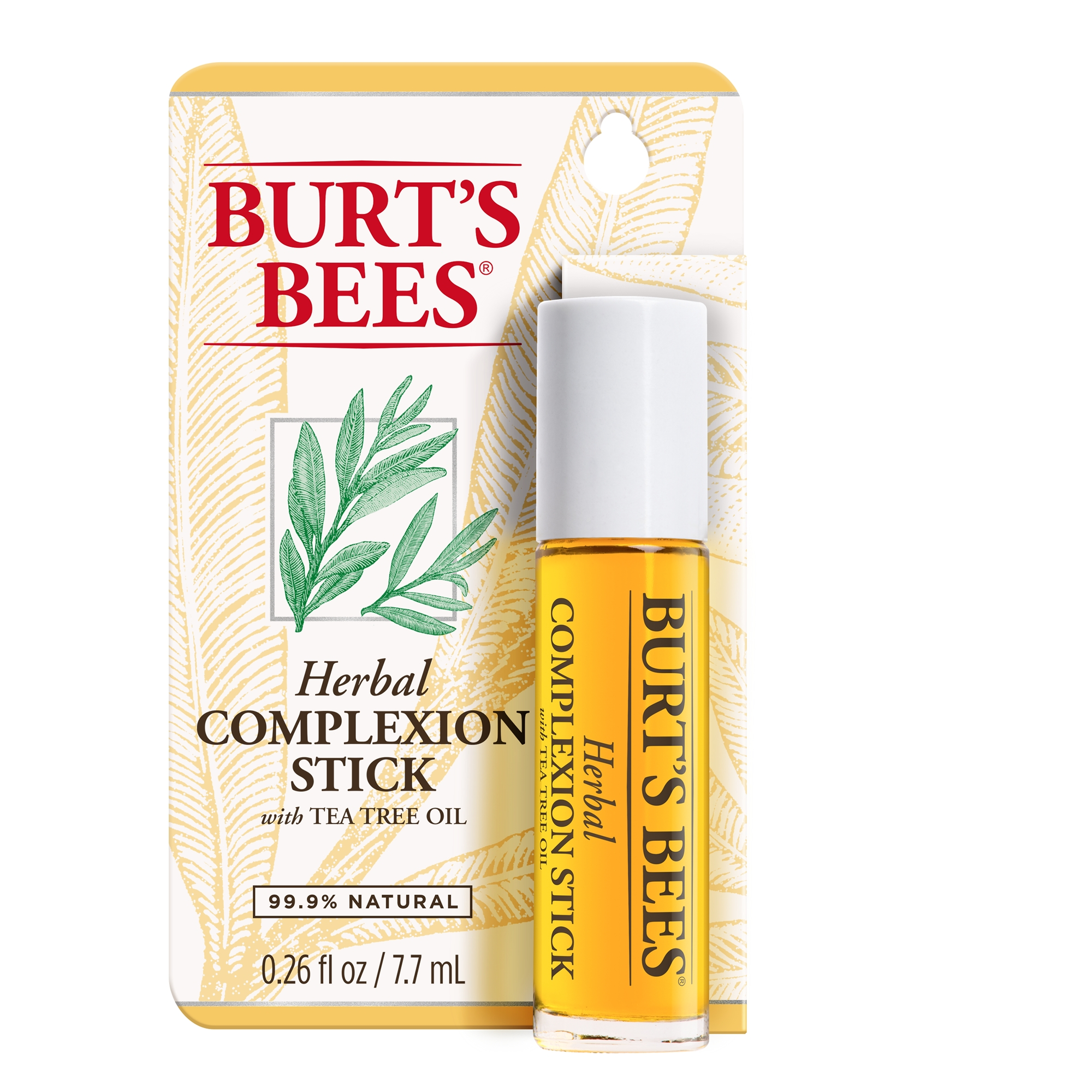 Burt's Bees Herbal Complexion Stick, 1 Stick