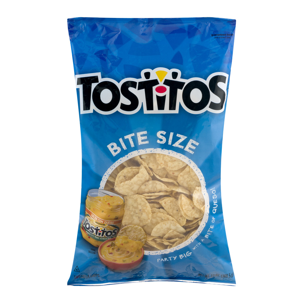 Tostitos Bite Size Tortilla Chips, 13.0 OZ