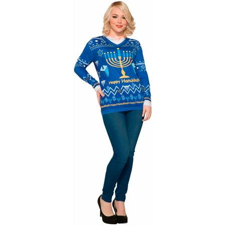 Hanukkah Dress - Mens Chanukah Sweater