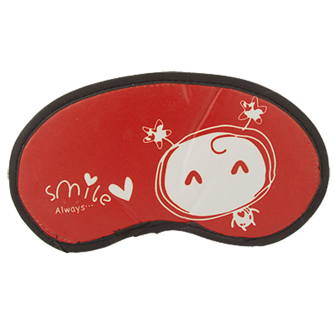 Cartoon Red Travel Sleeping Mask Cover Eyeshade Patch