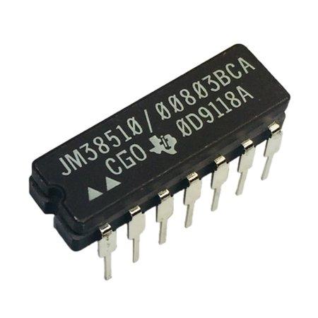 JM38510/00803BCA  Buffer Driver 6-CH Non-Inverting Open Collector Bipolar 14-Pin CDIP