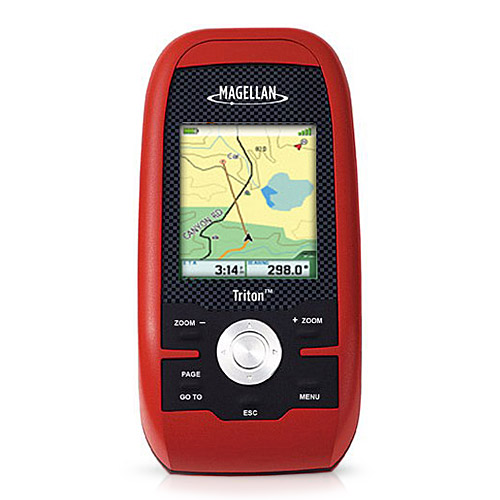 Magellan Triton 400 2.2-inch Handheld GPS w/ Built-in Map...